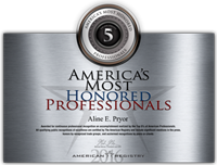 2017 Most Honored Professionals
